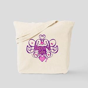Daddy's Girl Pink/Fuschia Tote Bag