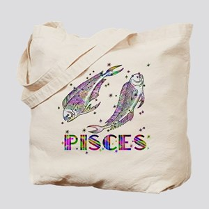 PISCES Skies Tote Bag