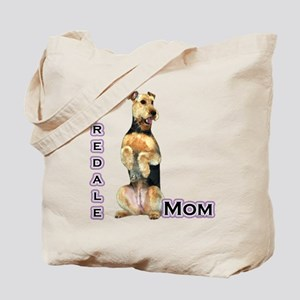 Airedale Mom4 Tote Bag