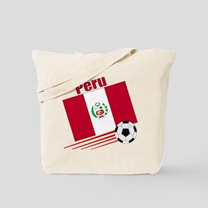 Peru Soccer Team Tote Bag