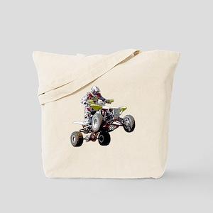 ATV Racing (color) Tote Bag