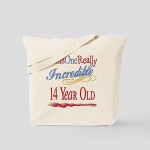 Incredible At 14 Tote Bag
