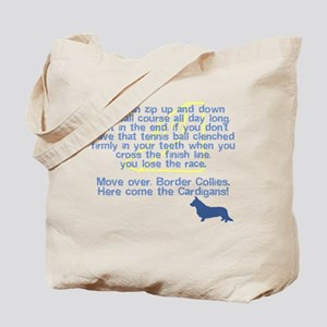 Move Over Cardigan Flyball Tote Bag