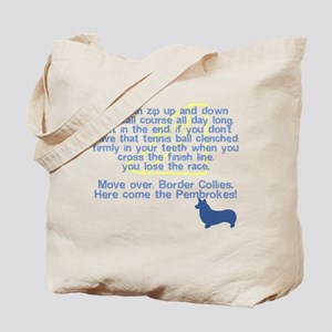 Move Over Pembroke Flyball Tote Bag