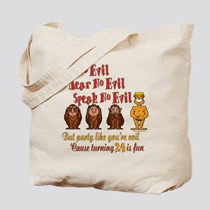 Party 24th Tote Bag