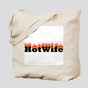 Flaming Hotwife Tote Bag