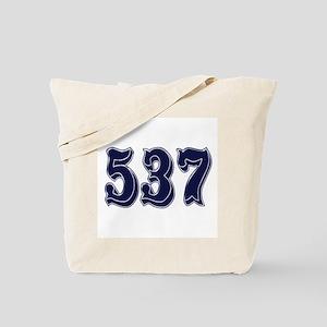 537 Tote Bag
