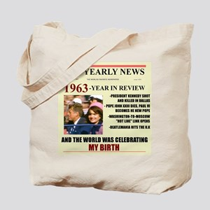 born in 1963 birthday gift Tote Bag