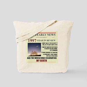 born in 1997 birthday gift Tote Bag
