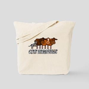 cow whisperer blue heeler Tote Bag