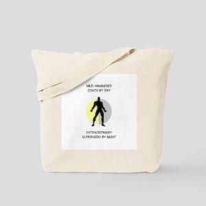 Coaching Superhero Tote Bag