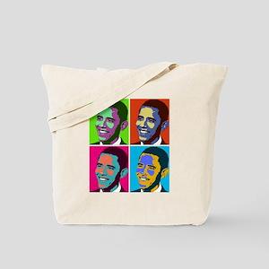 obama warhol Tote Bag