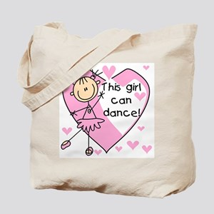 This Girl Can Dance Tote Bag