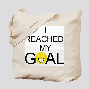 Reached My Goal Tote Bag
