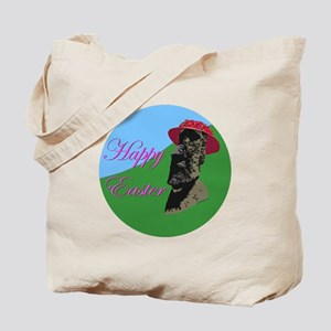 Happy Easter Island Tote Bag