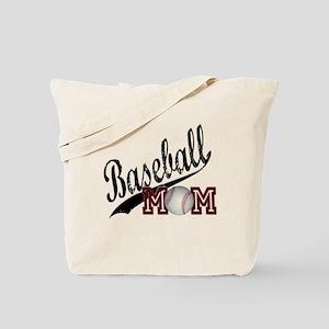 Baseball Mom Tote Bag