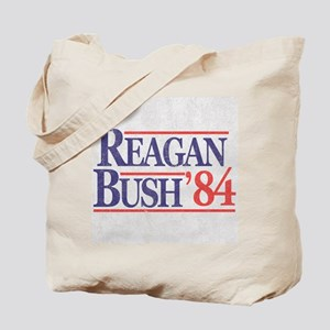 Reagan Bush '84 Tote Bag
