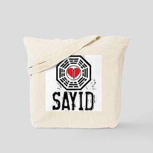 I Heart Sayid - LOST Tote Bag