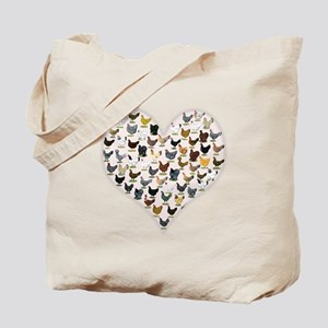 Chicken Heart Tote Bag