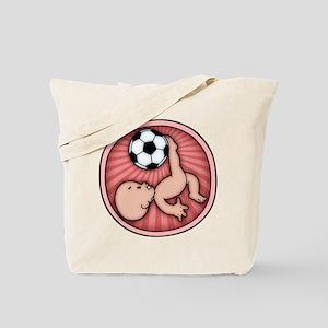 Soccer Baby Kick Tote Bag