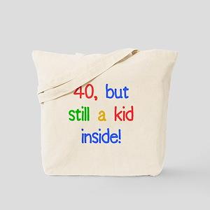 Fun 40th Birthday Humor Tote Bag