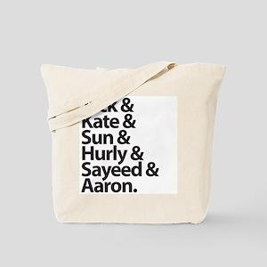 The Oceanic Six Tote Bag