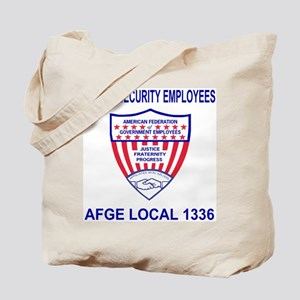 AFGE Local 1336<BR>AFGE Tote Bag