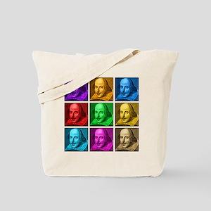 Shakespeare Pop Art Tote Bag