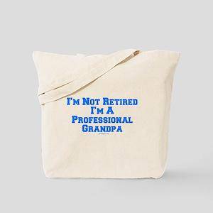 Professional Grandpa Tote Bag