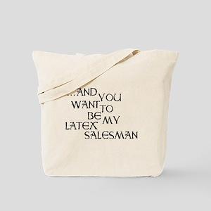Seinfeld Latex Salesman Tote Bag