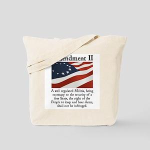 2nd Amendment Tote Bag