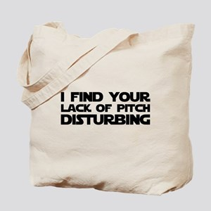 Lack of Pitch Tote Bag