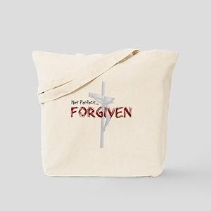 Not Perfect... Forgiven Tote Bag
