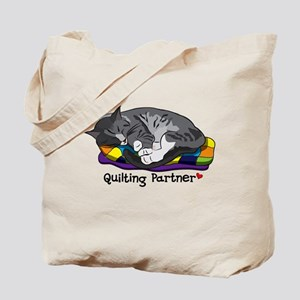 Quilting Partner Tote Bag