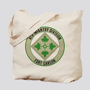 4th Infantry post Tote Bag