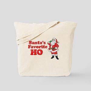 Santa's Favorite Ho! Tote Bag