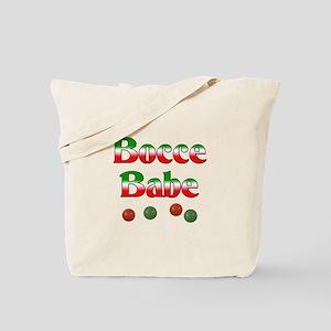 Bocce Babe Tote Bag