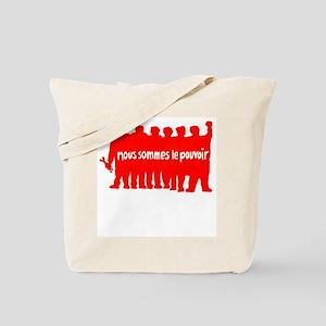 Paris 1968 Tote Bag