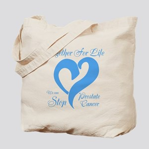 Stop Prostate Cancer Tote Bag