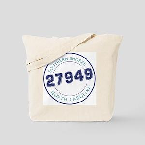 Southern Shores Zip Code Tote Bag