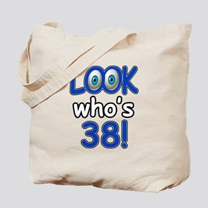 Look who's 38 Tote Bag