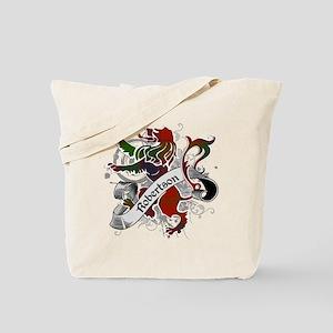 Robertson Tartan Lion Tote Bag