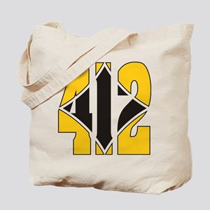412 Gold/Black-W Tote Bag