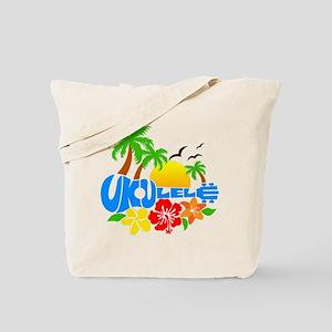 Ukulele Island Logo Tote Bag