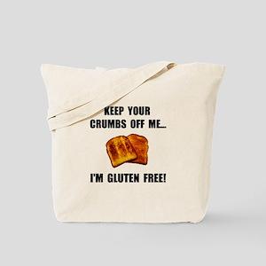 Crumbs Off Me Gluten Free Tote Bag