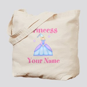 Blond Princess Personalized Tote Bag