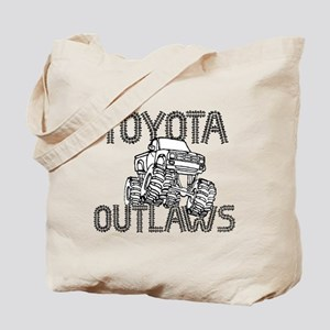 Toyota Outlaws Logo Tote Bag