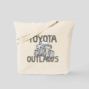 Toyota Outlaws Logo Tote Bag