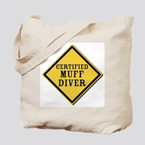 Certified Muff Diver Tote Bag