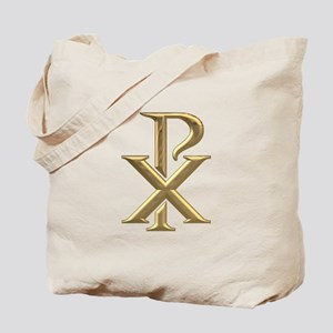 Golden 3-D Chiro Tote Bag
